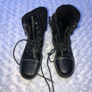Michael Kors combat boots size 5